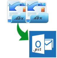recover emails from dbx files