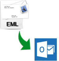 import eml to outlook 2010