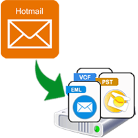 Export Hotmail Data to Hard Drive