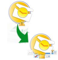 repair damaged pst file