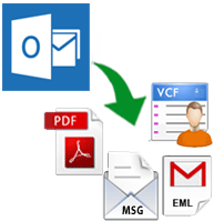 convert pst file without outlook