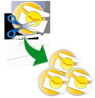 split large pst file