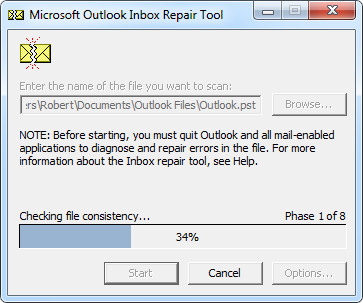 Restore Emails from Outlook Data File through PST Recovery Tool