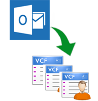 Outlook Contacts to vcard