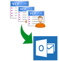 import vcf to outlook