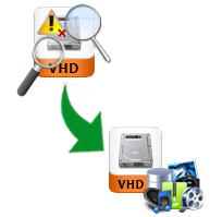 hdd recovery of virtual machine