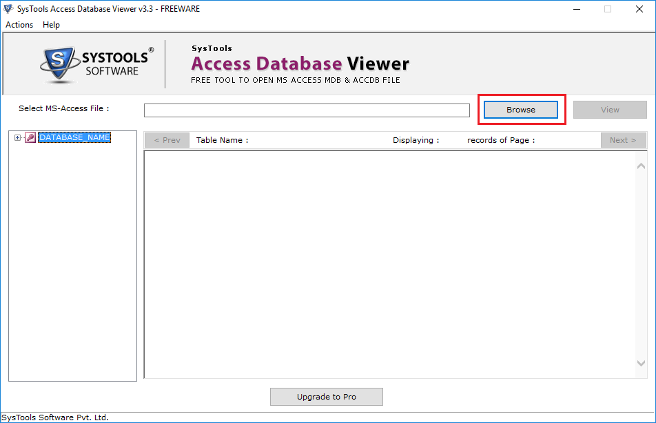 Access Database Viewer Tool