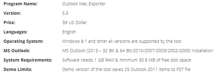 Outlook 2011 to Outlook 2013 Tech Brief